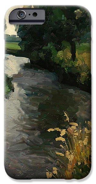 River Geul iPhone Case by Nop Briex