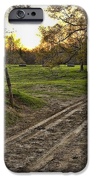 Road Less Traveled iPhone Case by Cris Hayes