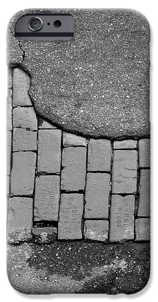 Road Textures iPhone Case by Mike McGlothlen