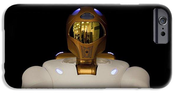Dexterity iPhone Cases - Robonaut 2, A Dexterous, Humanoid iPhone Case by Stocktrek Images