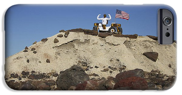 Raised Image iPhone Cases - Robonaut 2 Poses Atop Its New Wheeled iPhone Case by Stocktrek Images