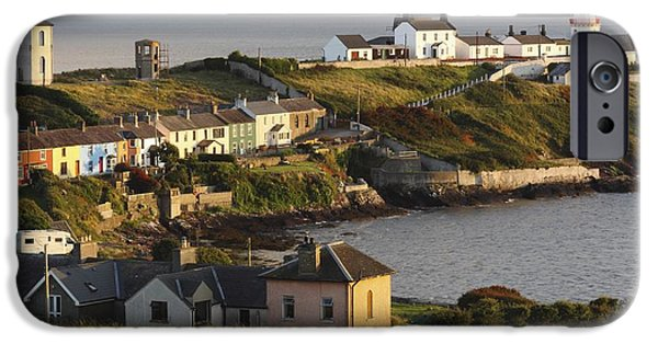 East Village iPhone Cases - Roches Point Lighthouse In Cork Harbour iPhone Case by Trish Punch