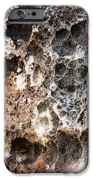Rock Shapes iPhone Cases - Rock History iPhone Case by John Rizzuto