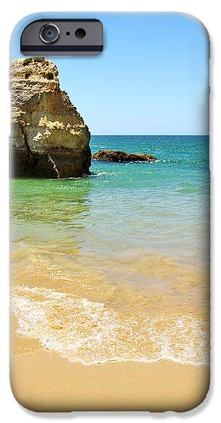 Rock on Beach iPhone Case by Carlos Caetano