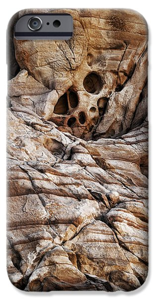 Rock Texture iPhone Case by Kelley King