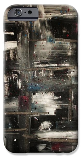 Neil Young Paintings iPhone Cases - Rockin in a Free World iPhone Case by Jessie Art