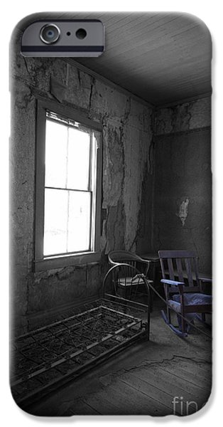Rocking Chairs Photographs iPhone Cases - Rocking Chair iPhone Case by Cheryl Young