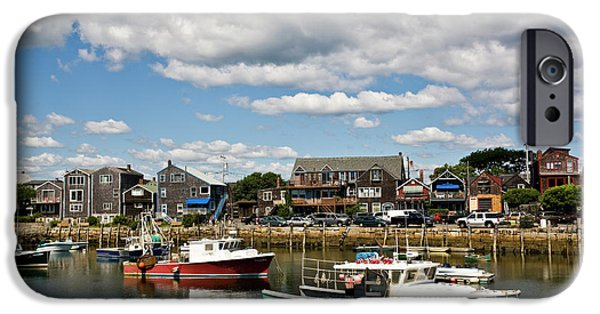 Rockport Ma iPhone Cases - Rockport Green iPhone Case by Warren Carrington