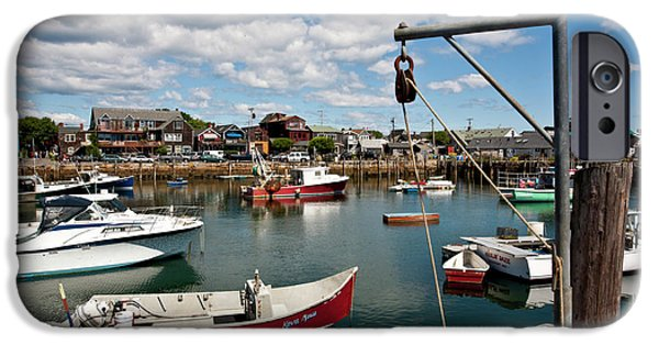 Rockport Ma iPhone Cases - Rockport Harbor iPhone Case by Warren Carrington