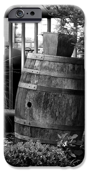 Recently Sold -  - Rain Barrel iPhone Cases - Roll Out the Barrel iPhone Case by Shelley Blair
