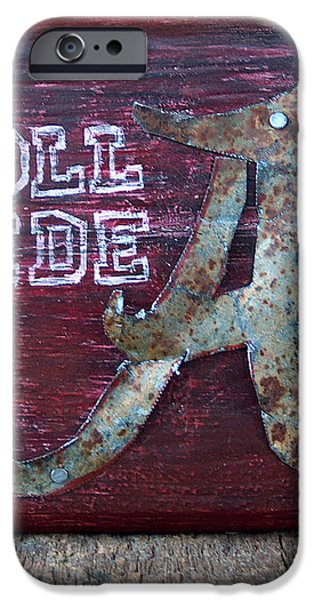 Roll Tide - Small iPhone Case by Racquel Morgan
