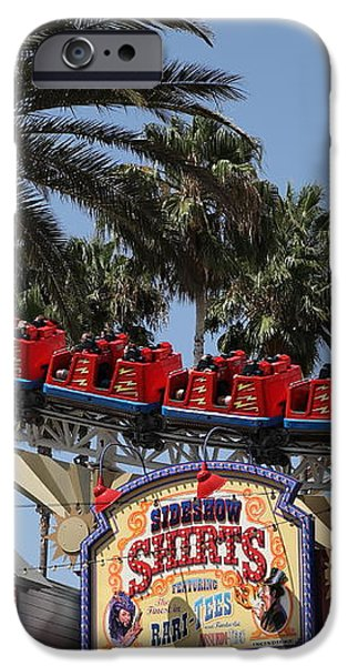 Roller Coaster - 5D17628 iPhone Case by Wingsdomain Art and Photography