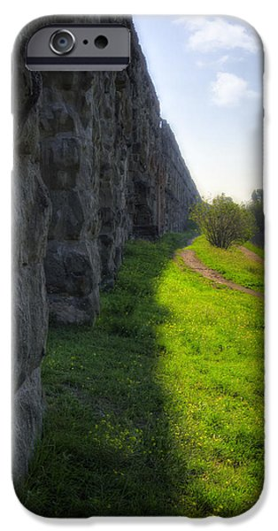 Roman Aqueducts iPhone Case by Joan Carroll