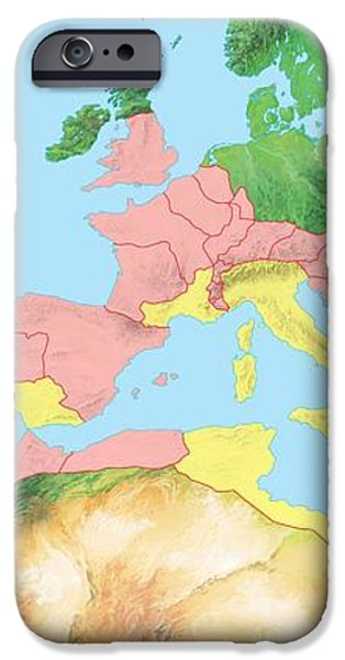 Roman Empire, Artwork iPhone Case by Gary Hincks