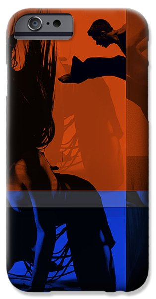 Romantic Digital iPhone Cases - Romance iPhone Case by Naxart Studio