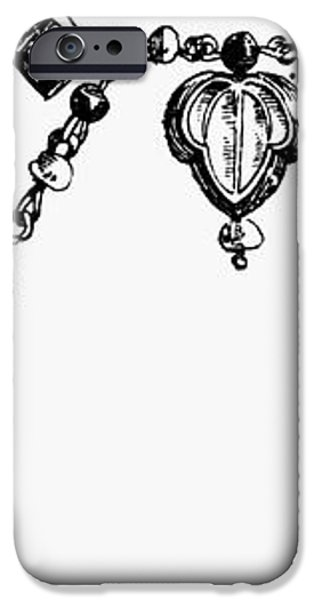 ROME: GOLD COLLAR iPhone Case by Granger