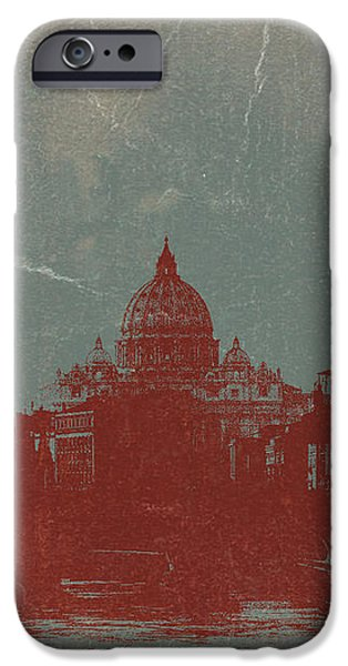 Rome iPhone Case by Naxart Studio