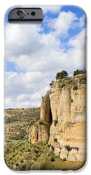Ronda Cliffs in Andalusia iPhone Case by Artur Bogacki