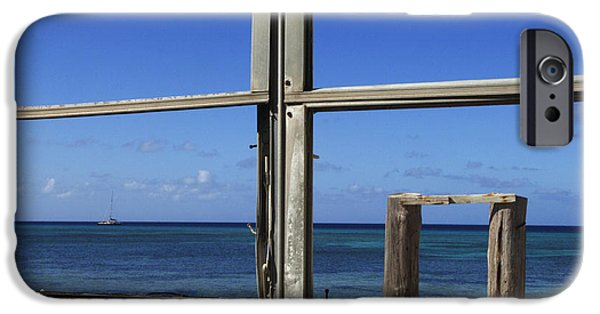 Caribbean Architecture iPhone Cases - Room With A View iPhone Case by Bob Christopher