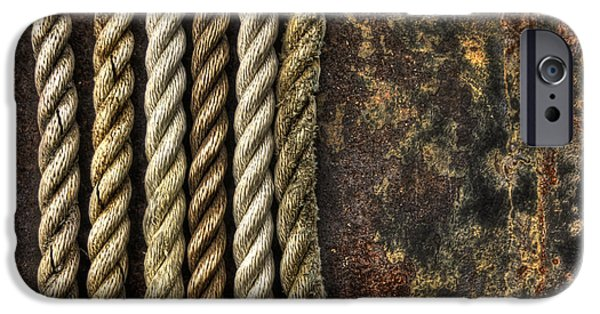 Rope iPhone Cases - Ropes iPhone Case by Evelina Kremsdorf