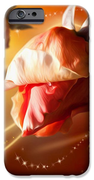 Rose and Butterfly iPhone Case by Svetlana Sewell