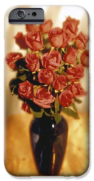 Roses iPhone Case by Tony Cordoza