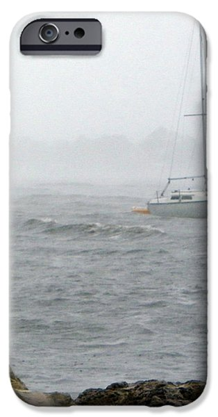 Rough Waters iPhone Case by Sheri McLeroy