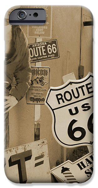 Route 66 iPhone Case by Mike McGlothlen