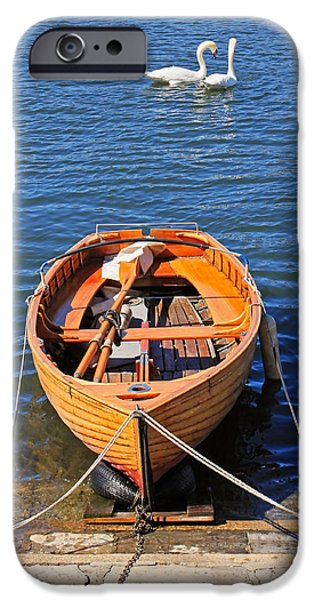 rowboat iPhone Case by Joana Kruse