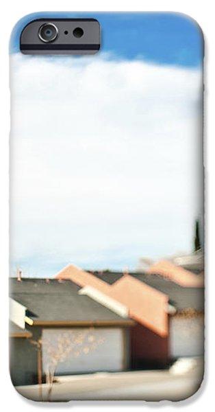 Rows of Duplex Garages iPhone Case by Eddy Joaquim