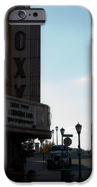 Roxy Regional Theater iPhone Case by ED GLEICHMAN