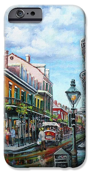 Carriages iPhone Cases - Royal Balconies iPhone Case by Dianne Parks