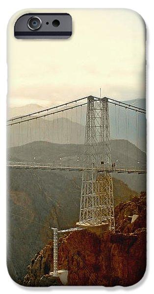 Royal Gorge Bridge Colorado - Take a walk across the sky iPhone Case by Christine Till