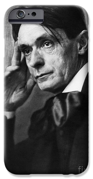 RUDOLF STEINER (1861-1925) iPhone Case by Granger