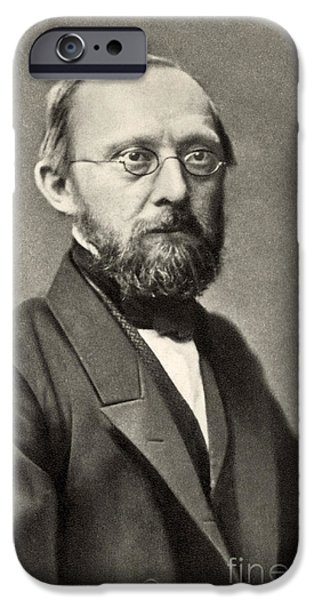 Rudolph Virchow, German Polymath iPhone Case by Photo Researchers