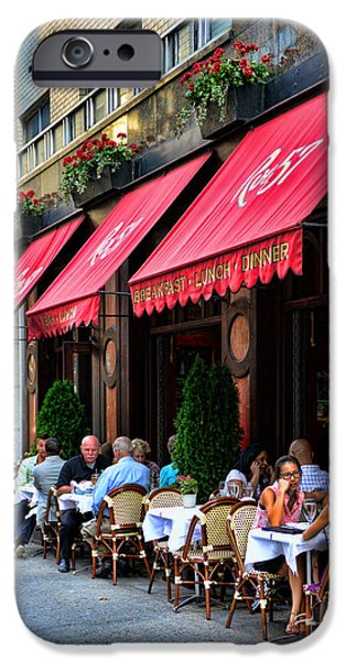 Rue 57 NYC iPhone Case by Paul Ward