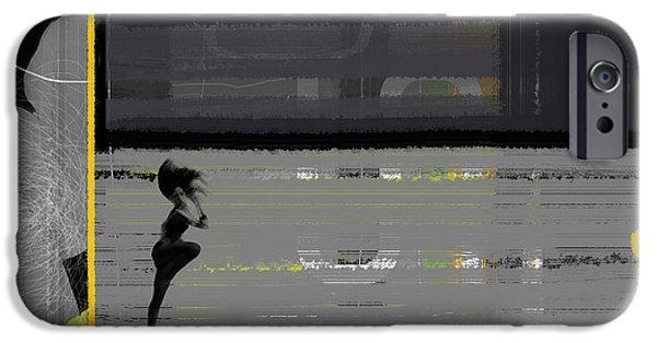 Runner iPhone Cases - Run iPhone Case by Naxart Studio