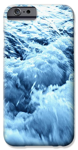 Panama City Beach Photographs iPhone Cases - Rushing Water iPhone Case by Skip Nall