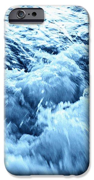 Rushing Water iPhone Case by Skip Nall