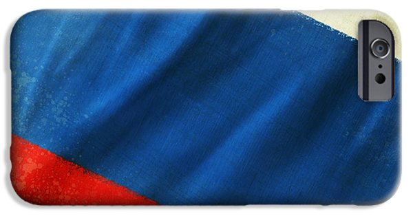 Sheets iPhone Cases - Russia flag iPhone Case by Setsiri Silapasuwanchai