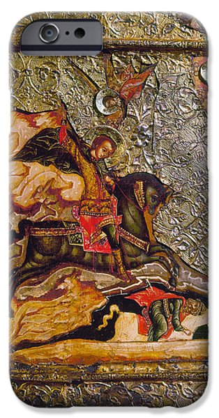 RUSSIAN ICON: DEMETRIUS iPhone Case by Granger