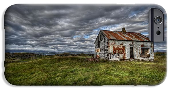 Abandoned House iPhone Cases - Rust In Peace iPhone Case by Evelina Kremsdorf