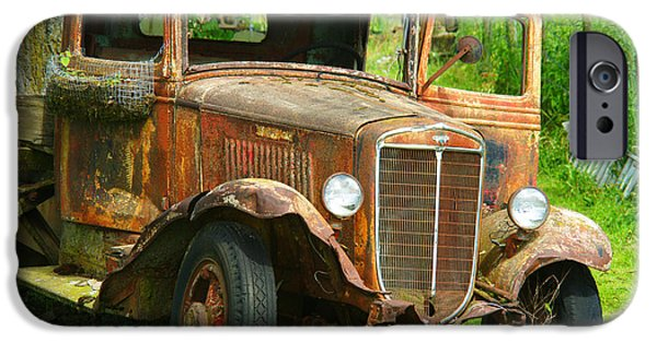 Rust iPhone Cases - Rusted Artwork iPhone Case by Randy Harris