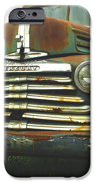 Rustic Mercury iPhone Case by Randy Harris