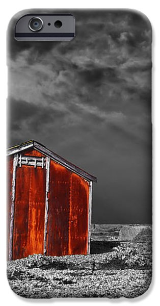rusting away iPhone Case by Meirion Matthias