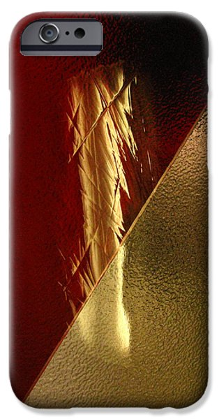 Sacred Glass iPhone Cases - Sacred Things iPhone Case by Peter Piatt