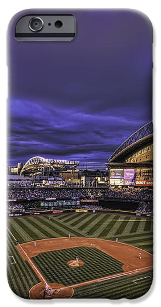 Safeco Field iPhone Case by Dan McManus