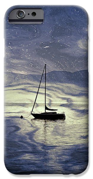 sailing boat iPhone Case by Joana Kruse