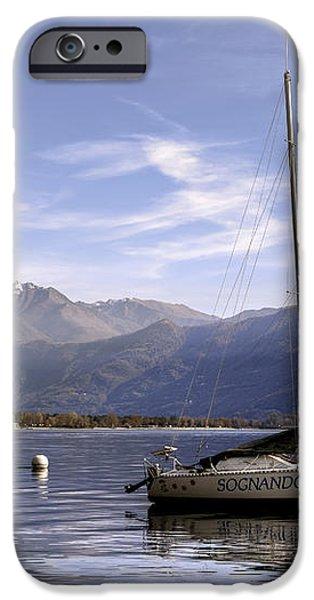 sailing boats iPhone Case by Joana Kruse