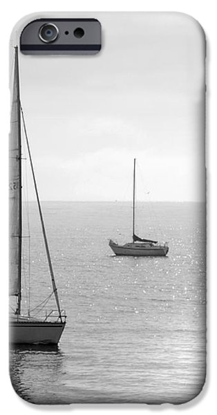Sailing in Calm Waters iPhone Case by Artist and Photographer Laura Wrede